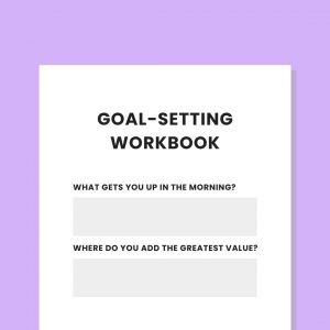 Private practice goal setting workbook practicelab