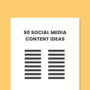 Social media content ideas private practice