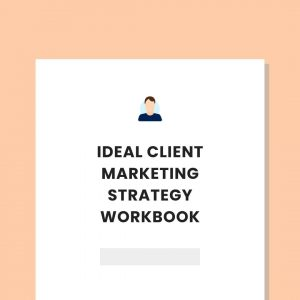 private practice Ideal client marketing strategy workbook pl