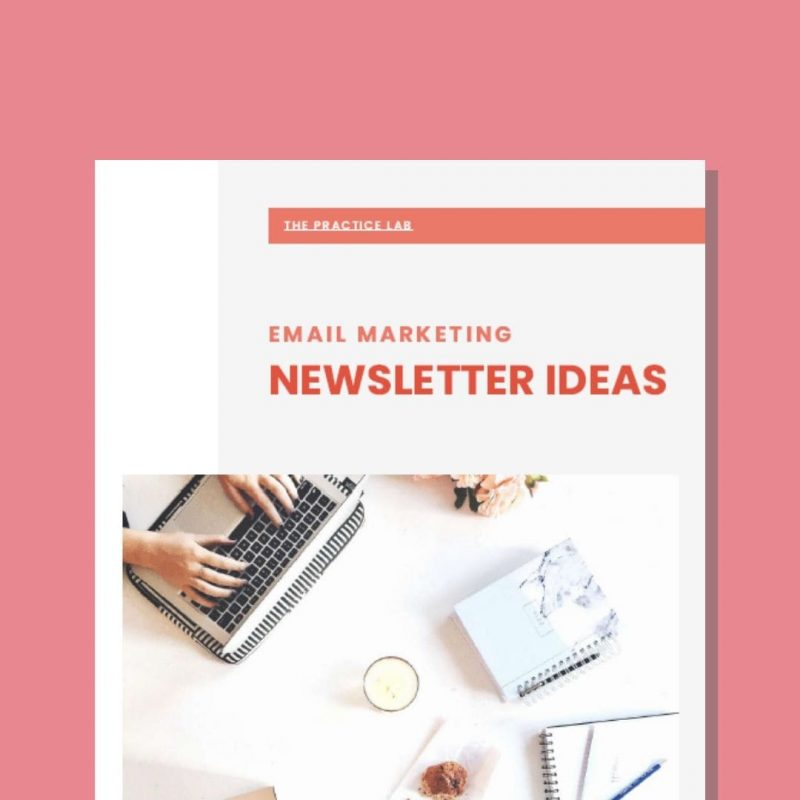 private practice email marketing newsletter ideas 2