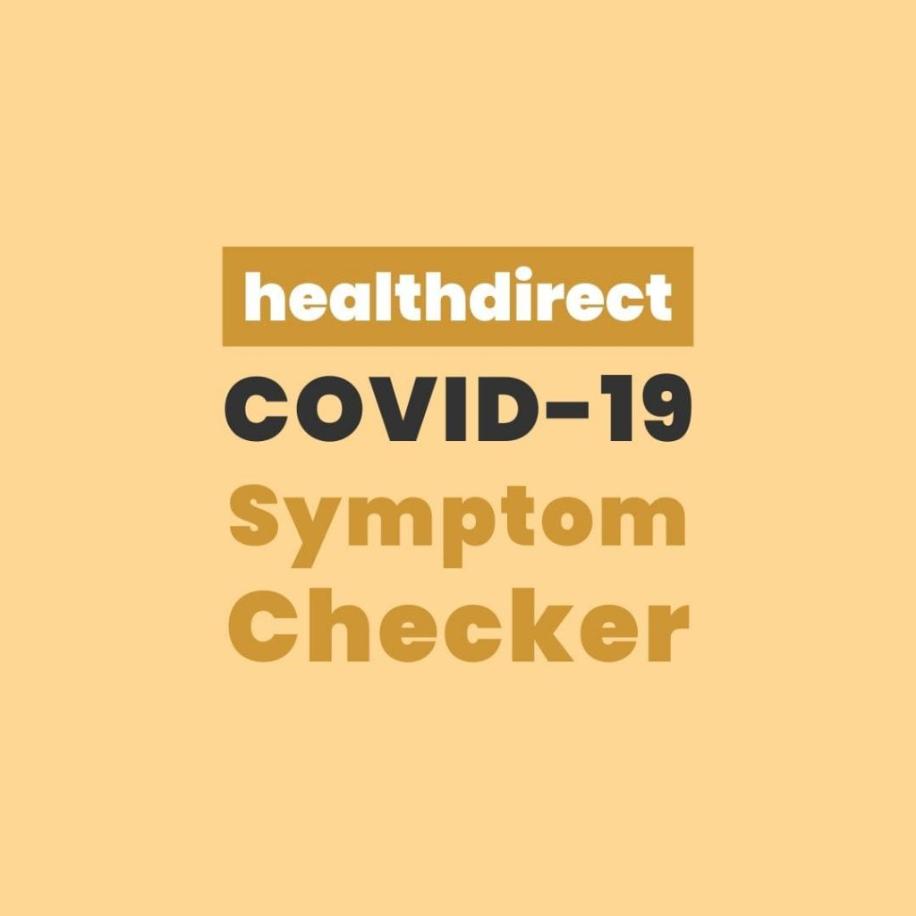 healthdirect covid19 symptom checker